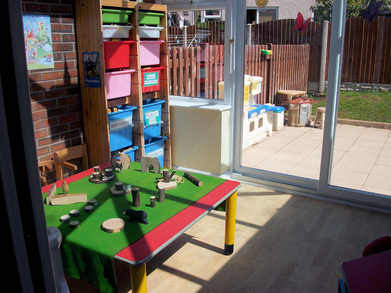Pre-School Playroom Blue Group (2-3 years)
