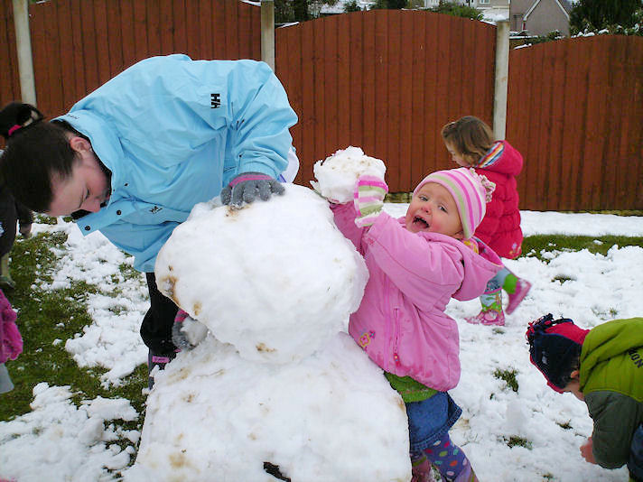 Building a Snow Man