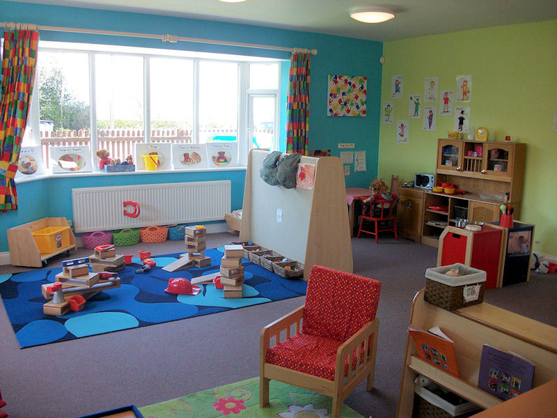 Pre-school Playroom Red Group (3-5 years)